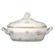 Richard Ginori Vecchio Galli Rossi Tureen with Cover